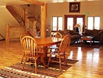 Common area of the Tabby Mountain Lodge.